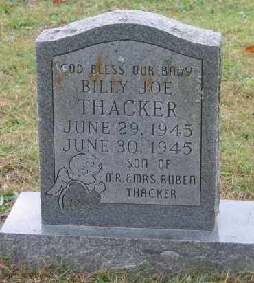 THACKER, BILLY JOE - Lawrence County, Arkansas | BILLY JOE THACKER - Arkansas Gravestone Photos