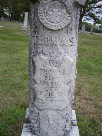 THOMAS, JACK - Lawrence County, Arkansas | JACK THOMAS - Arkansas Gravestone Photos