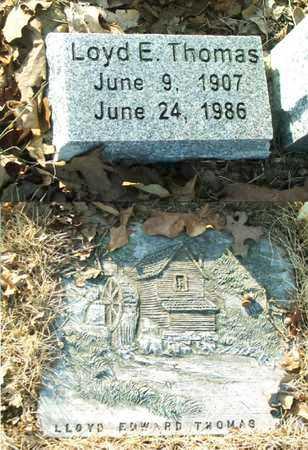 THOMAS, LLOYD EDWARD - Lawrence County, Arkansas | LLOYD EDWARD THOMAS - Arkansas Gravestone Photos