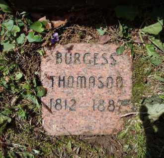 THOMASON, BURGESS - Lawrence County, Arkansas | BURGESS THOMASON - Arkansas Gravestone Photos
