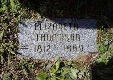 THOMASON, ELIZABETH - Lawrence County, Arkansas | ELIZABETH THOMASON - Arkansas Gravestone Photos