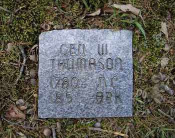 THOMASON, GEORGE W. - Lawrence County, Arkansas | GEORGE W. THOMASON - Arkansas Gravestone Photos