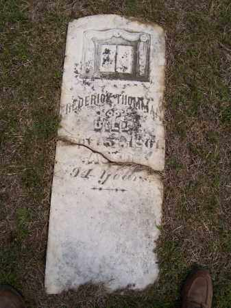 THOMMAN, FREDERICK - Lawrence County, Arkansas | FREDERICK THOMMAN - Arkansas Gravestone Photos