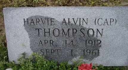 "THOMPSON, HARVIE ALVIN ""CAP"" - Lawrence County, Arkansas | HARVIE ALVIN ""CAP"" THOMPSON - Arkansas Gravestone Photos"