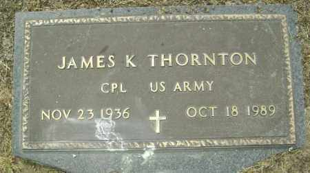 THORNTON  (VETERAN), JAMES K. - Lawrence County, Arkansas | JAMES K. THORNTON  (VETERAN) - Arkansas Gravestone Photos