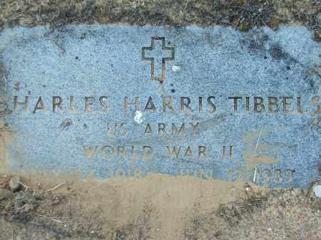 TIBBELS (VETERAN WWII), CHARLES HARRIS - Lawrence County, Arkansas | CHARLES HARRIS TIBBELS (VETERAN WWII) - Arkansas Gravestone Photos
