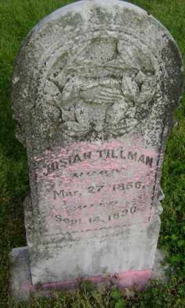 TILLMAN, JOSIAH - Lawrence County, Arkansas | JOSIAH TILLMAN - Arkansas Gravestone Photos