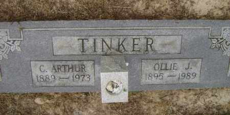 TINKER, OLLIE JANE - Lawrence County, Arkansas | OLLIE JANE TINKER - Arkansas Gravestone Photos