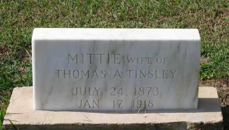 "TINSLEY, ARMITTA A. ""MITTIE"" - Lawrence County, Arkansas 