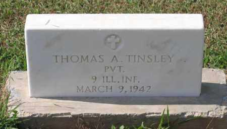 TINSLEY (VETERAN SAW), THOMAS ALLEN - Lawrence County, Arkansas | THOMAS ALLEN TINSLEY (VETERAN SAW) - Arkansas Gravestone Photos
