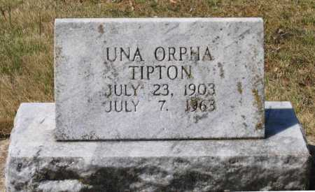 TIPTON, UNA ORPHA - Lawrence County, Arkansas | UNA ORPHA TIPTON - Arkansas Gravestone Photos