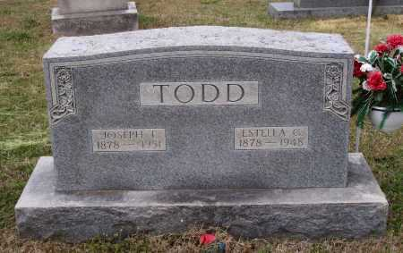 TODD, ESTELLA G. - Lawrence County, Arkansas | ESTELLA G. TODD - Arkansas Gravestone Photos