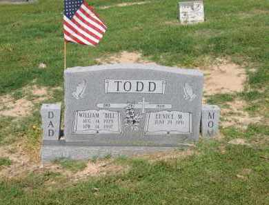 "TODD (VETERAN WWII), WILLIAM WALTER ""BILL"" - Lawrence County, Arkansas 