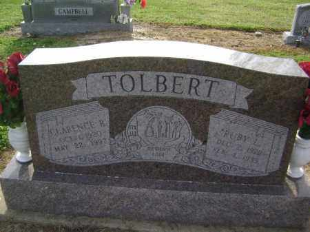 BARNHILL TOLBERT, RUBY LUCILLE - Lawrence County, Arkansas | RUBY LUCILLE BARNHILL TOLBERT - Arkansas Gravestone Photos