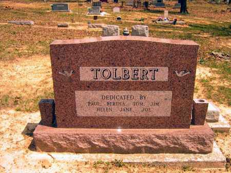 TOLBERT FAMILY STONE,  - Lawrence County, Arkansas |  TOLBERT FAMILY STONE - Arkansas Gravestone Photos