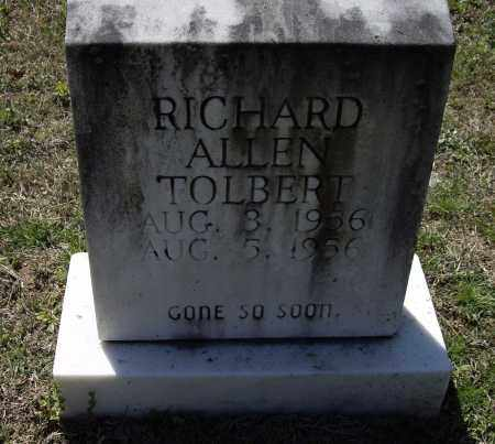 TOLBERT, RICHARD ALLEN - Lawrence County, Arkansas | RICHARD ALLEN TOLBERT - Arkansas Gravestone Photos