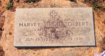 TOLBERT (VETERAN WWII), HARVEY VIRGIL - Lawrence County, Arkansas | HARVEY VIRGIL TOLBERT (VETERAN WWII) - Arkansas Gravestone Photos