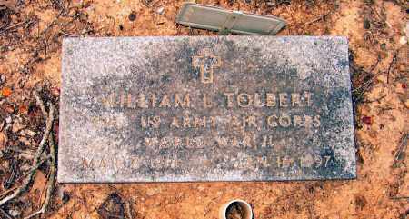 "TOLBERT (VETERAN WWII), WILLIAM LESTER ""RED"" - Lawrence County, Arkansas 