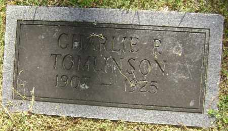 TOMLINSON, CHARLE P. - Lawrence County, Arkansas | CHARLE P. TOMLINSON - Arkansas Gravestone Photos