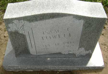 "TOWELL, ISAAC E. ""IKE"" - Lawrence County, Arkansas 