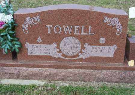 TOWELL, IVAN GLENN - Lawrence County, Arkansas | IVAN GLENN TOWELL - Arkansas Gravestone Photos