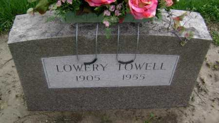 TOWELL, LOWERY - Lawrence County, Arkansas | LOWERY TOWELL - Arkansas Gravestone Photos