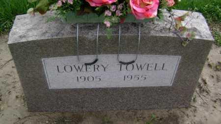 TOWELL, LOWERY - Lawrence County, Arkansas | LOWERY TOWELL - Arkansas Gravestone Photos