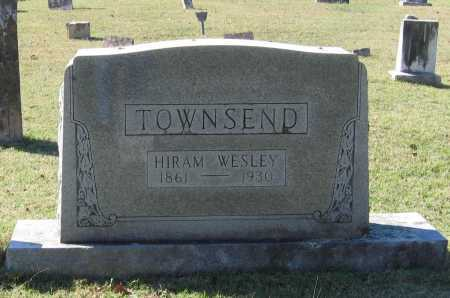 TOWNSEND, HIRAM WESLEY - Lawrence County, Arkansas | HIRAM WESLEY TOWNSEND - Arkansas Gravestone Photos