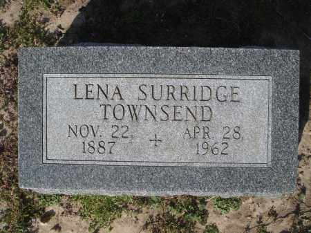 SURRIDGE TOWNSEND, LENA W. - Lawrence County, Arkansas | LENA W. SURRIDGE TOWNSEND - Arkansas Gravestone Photos