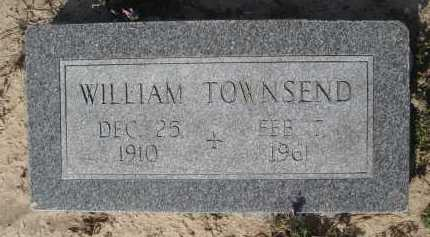 TOWNSEND, WILLIAM - Lawrence County, Arkansas | WILLIAM TOWNSEND - Arkansas Gravestone Photos
