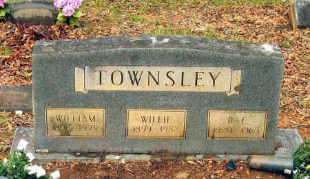 TOWNSLEY, WILLIE M. - Lawrence County, Arkansas | WILLIE M. TOWNSLEY - Arkansas Gravestone Photos
