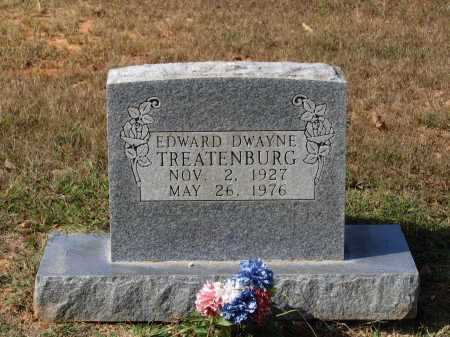 TREATENBURG, EDWARD DWAYNE - Lawrence County, Arkansas | EDWARD DWAYNE TREATENBURG - Arkansas Gravestone Photos