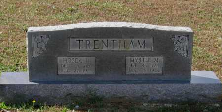 TRENTHAM, MYRTLE - Lawrence County, Arkansas | MYRTLE TRENTHAM - Arkansas Gravestone Photos