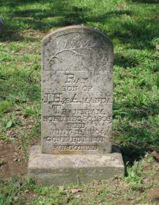 TRENTHAM, RAY - Lawrence County, Arkansas | RAY TRENTHAM - Arkansas Gravestone Photos