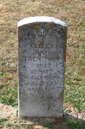 TRENTHAM (VETERAN WWII), KELLEY RAY - Lawrence County, Arkansas | KELLEY RAY TRENTHAM (VETERAN WWII) - Arkansas Gravestone Photos
