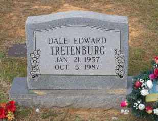 TRETENBURG, DALE EDWARD - Lawrence County, Arkansas | DALE EDWARD TRETENBURG - Arkansas Gravestone Photos