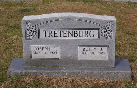 TRETENBURG (VETERAN WWII), JOSEPH E. - Lawrence County, Arkansas | JOSEPH E. TRETENBURG (VETERAN WWII) - Arkansas Gravestone Photos