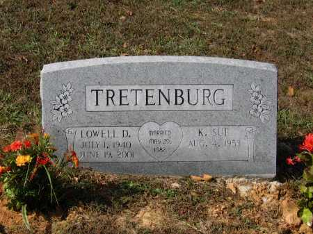 TRETENBURG, LOWELL D. - Lawrence County, Arkansas | LOWELL D. TRETENBURG - Arkansas Gravestone Photos