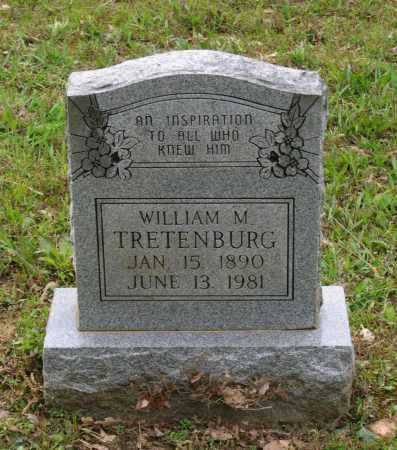 TRETENBURG (VETERAN WWI), WILLIAM M. - Lawrence County, Arkansas | WILLIAM M. TRETENBURG (VETERAN WWI) - Arkansas Gravestone Photos