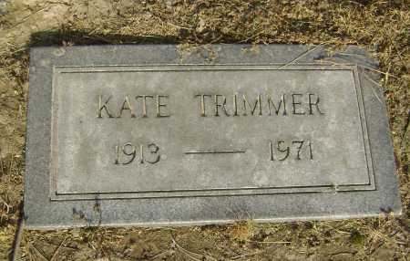 TRIMMER, KATE - Lawrence County, Arkansas | KATE TRIMMER - Arkansas Gravestone Photos