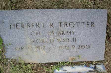 TROTTER (VETERAN WWII), HERBERT R. - Lawrence County, Arkansas | HERBERT R. TROTTER (VETERAN WWII) - Arkansas Gravestone Photos