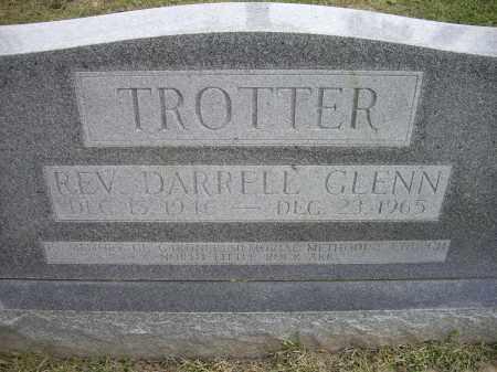 TROTTER, REV., DARRELL GLENN - Lawrence County, Arkansas | DARRELL GLENN TROTTER, REV. - Arkansas Gravestone Photos