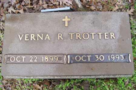 TROTTER, VERNA R. - Lawrence County, Arkansas | VERNA R. TROTTER - Arkansas Gravestone Photos