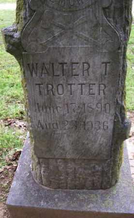 TROTTER, WALTER T. - Lawrence County, Arkansas | WALTER T. TROTTER - Arkansas Gravestone Photos