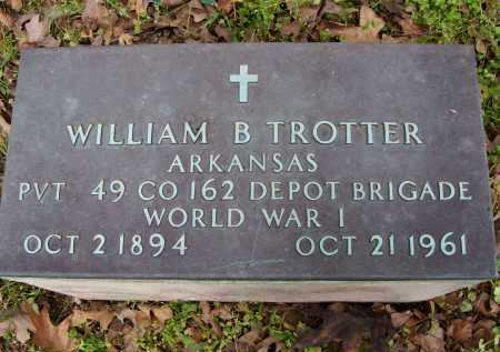 TROTTER (VETERAN WWI), WILLIAM BRADLEY - Lawrence County, Arkansas | WILLIAM BRADLEY TROTTER (VETERAN WWI) - Arkansas Gravestone Photos