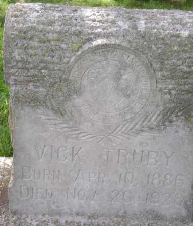 TRUBY, VICK - Lawrence County, Arkansas | VICK TRUBY - Arkansas Gravestone Photos