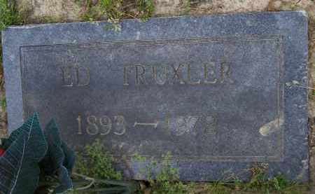TRUXLER, ED - Lawrence County, Arkansas | ED TRUXLER - Arkansas Gravestone Photos