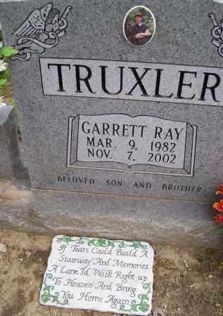 TRUXLER, GARRETT RAY - Lawrence County, Arkansas | GARRETT RAY TRUXLER - Arkansas Gravestone Photos