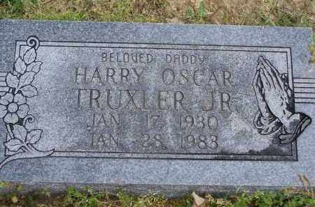 TRUXLER, JR., HARRY OSCAR - Lawrence County, Arkansas | HARRY OSCAR TRUXLER, JR. - Arkansas Gravestone Photos