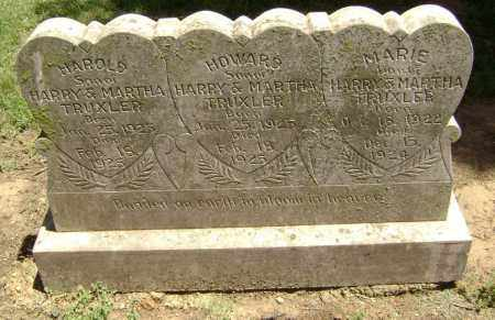 TRUXLER, HOWARD - Lawrence County, Arkansas | HOWARD TRUXLER - Arkansas Gravestone Photos
